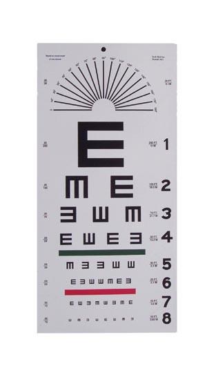 Eye Chart Illiterate Ea